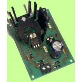 FUENTE VARIABLE DE 12V. a 24V. / 500 mA. CEBEK FE-76