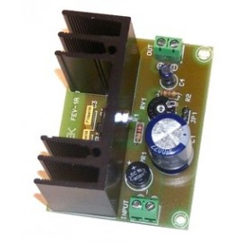 FUENTE VARIABLE DE 12V. a 24V. / 1A. CEBEK FE-77