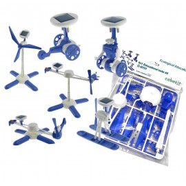 KIT EDUCATIVO SOLAR 6 EN 1 AZUL (LOW COST) CEBEK C-0111B.