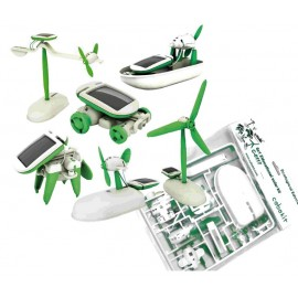 KIT EDUCATIVO SOLAR 6 EN 1 (LOW COST) CEBEK C-0117B.