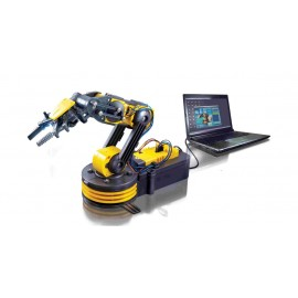 BRAZO ROBOT PROGRAMABLE VIA USB MEDIANTE PC CEBEK C-9895-2