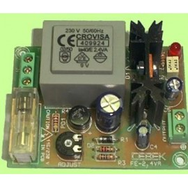 FUENTE ALIMENTACION COMPACTA 5V. / 220mA. CEBEK FE-101