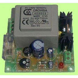FUENTE ALIMENTACION COMPACTA 5V. / 450mA. CEBEK FE-111