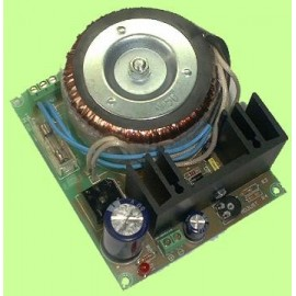 FUENTE ALIMENTACION COMPACTA 24V. / 1A. CEBEK FE-136