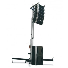 Torre line array Work WT-600 Negro.