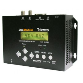 DigiMod HD Encoder/Modulador DVB-T TELEVES 554912.